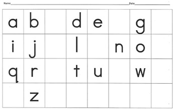 Letter Fluency and Writing Intervention Resource Book