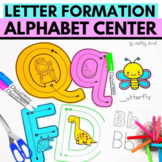 Letter Formation   Alphabet Path of Motion Tracing Cards