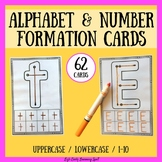 Letter Formation: Alphabet and Number Formation Cards