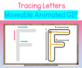 Letter Formation Tracing Activities with animated GIFs