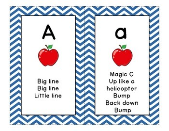 Letter Formation Cards for Handwriting Without Tears