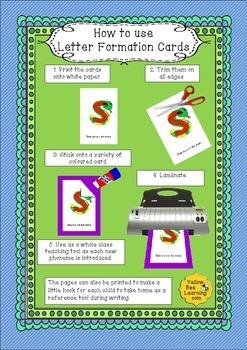 Letter Formation Cards