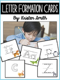Letter Formation Cards (with initial sound pictures)