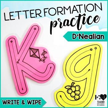 Letter Formation - D'Nealian