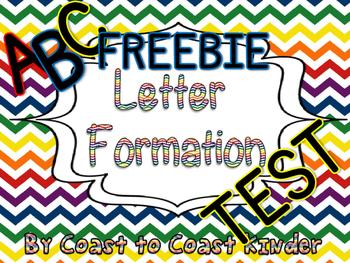 Letter Formation FREEBIE