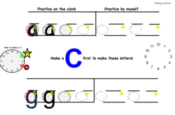 Letter Formation/Handwriting