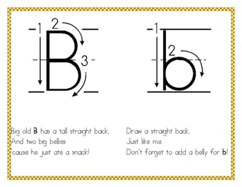 letter formation rhymes letter formation handwriting rhymes by mrs cs kinders tpt 48868