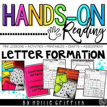 Letter Formation L.1.1.a {Hands-on Reading}