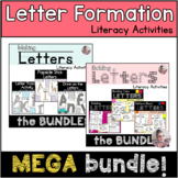Letter Formation Literacy Activities MEGA BUNDLE with 6 Al