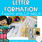 Letter Formation Mats - all Australian State Fonts