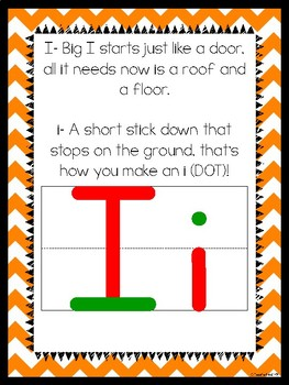 Letter Formation Poems