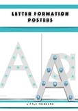 Letter Formation Posters