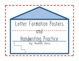 Letter Formation Posters & Handwriting Practice