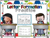 Letter Formation Practice A - Z