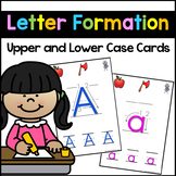 Letter Formation Practice Cards - Letter Sound and Letter