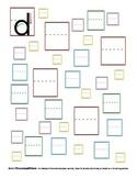 Letter Formation Practice - Lower Case