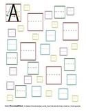 Letter Formation Practice - Upper Case