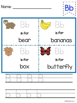 Letter Formation Practice with Simple Sentences included!!!
