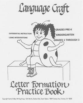 Letter Formation Pre K-3