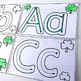 Letter Formation Task Cards, St Patrick's Day