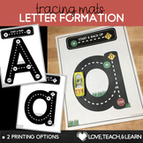 Letter Formation Tracing Mats : Test Drive