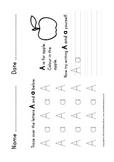 Letter Formation (Upper & Lower Case)