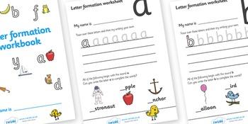 Letter Formation Workbook