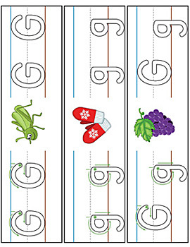 Letter Formation Writing Mat Activity Set {COLOR}