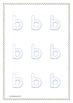 Letter Formation and Sound Recognition Worksheets