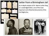 Letter From Birmingham Jail Text-Dependent Analysis