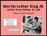 Letter From Selma Jail: Martin Luther King Jr. Primary Sou