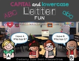 Letter Fun - Capital and Lowercase Letters