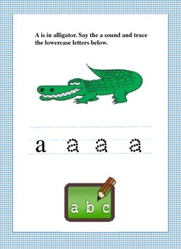 Letter Fun with Letter A