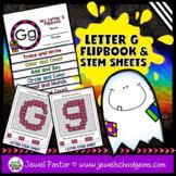 Letter G Alphabet Flip Book (Alphabet Interactive Notebook