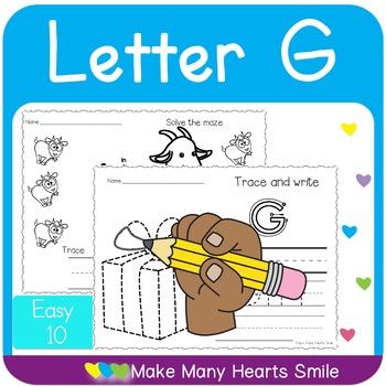 Easy 10: Letter G