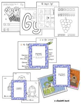 Letter G Activities