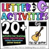 Letter G Activities   Alphabet   Letter Recognition, Formation and Sounds