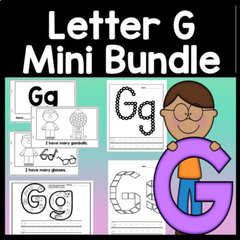 Letter G Activities {Letter G Book and 5 Letter G Worksheets!}
