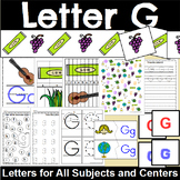 Letter G Activity and Center Packet