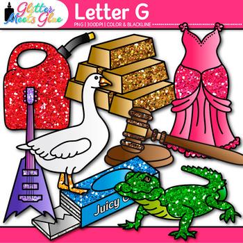 Letter G Alphabet Clip Art {Teach Phonics, Recognition, and Identification}