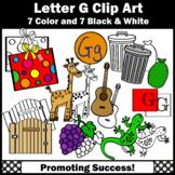 Letter G Clipart, Alphabet Clip Art, Letter Sounds SPS