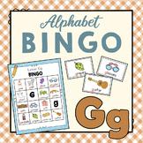 Letter G Bingo Game