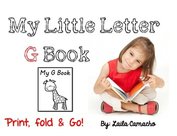 Letter G Book