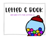 Letter G Book: Handwriting Practice