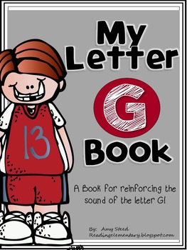 Letter G Book of Beginning Sounds-Emergent Reader w/Running Record-CCSS Aligned