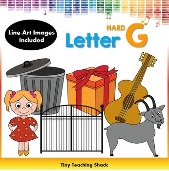 Letter G Clip Art (Hard G)