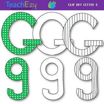 Letter G Clip Art Pack