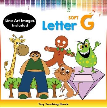 Letter G Clip Art (Soft G)