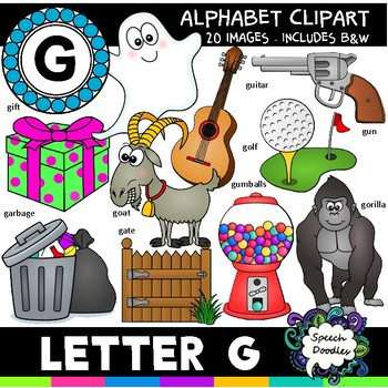 Personal Or Commercial Use Letter G Clipart