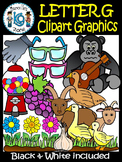 Letter G- Clipart Graphics- Commercial & Personal Use